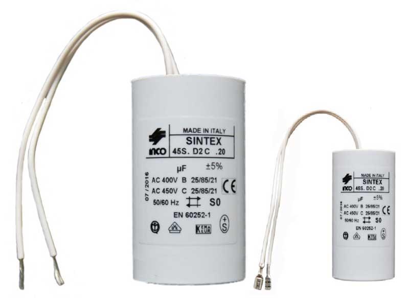 Kondensatoren für EBARA Wasserpumpen
