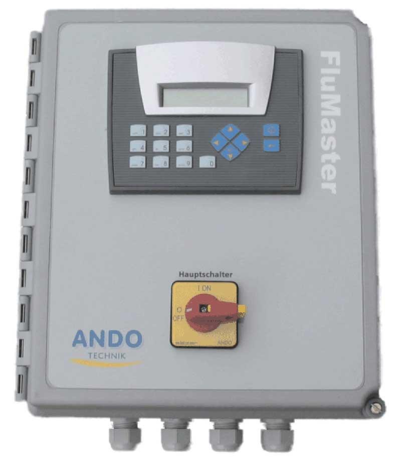 Pumpensteuerung Sensor Druckerhöhung