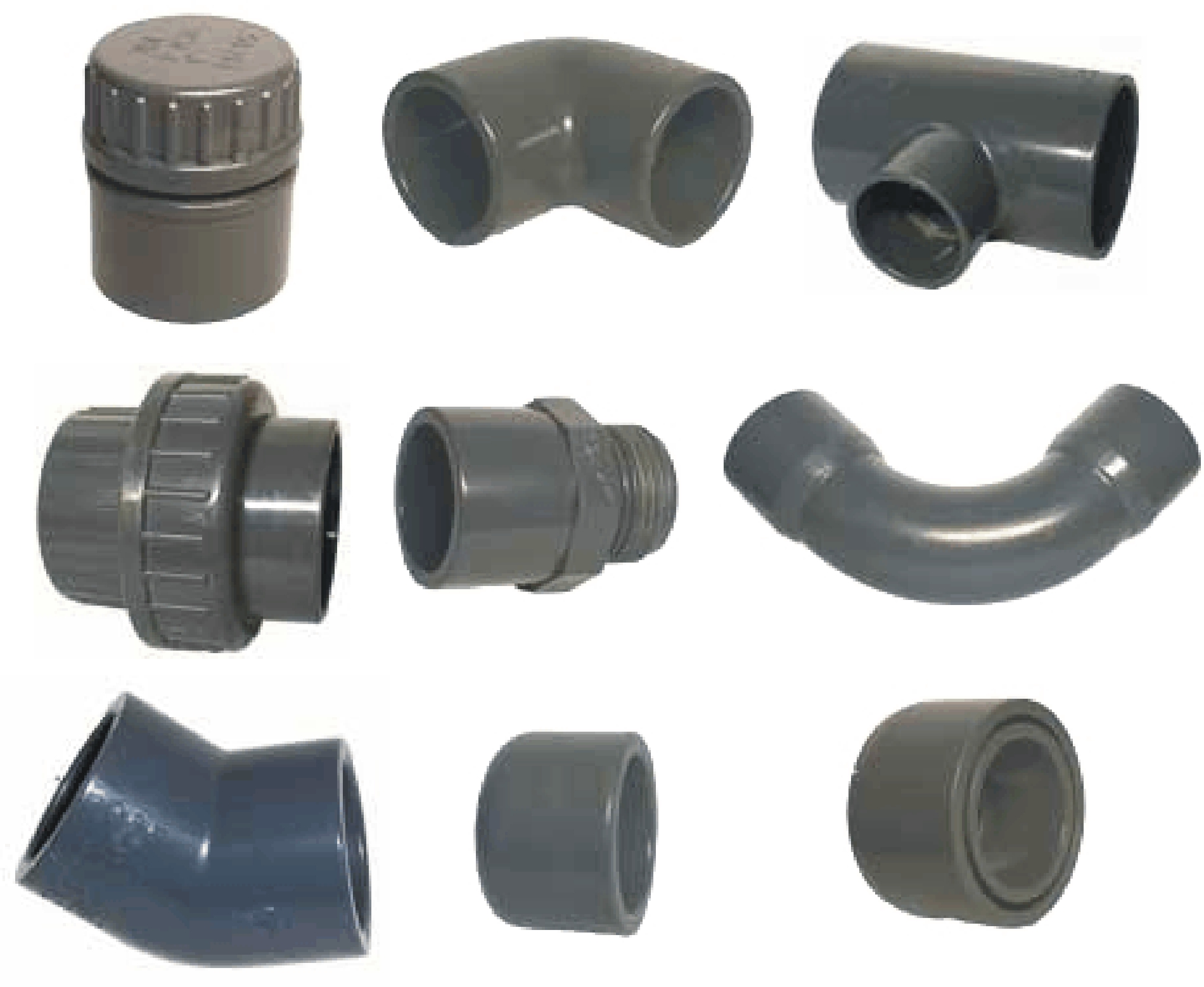 PVC Fittings und Formteile