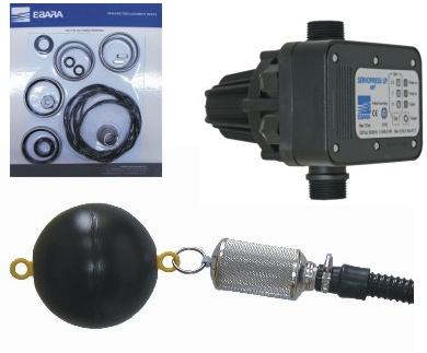 Zubehör und Ersatzteile für Wasserpumpen