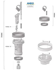 Dosatron Ersatzteile für den Motor der D3 Serie