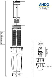 Dosatron Ersatzteile für die Dosierverstellung D3RE10VF