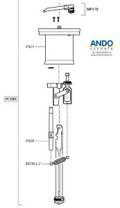 Dosatron Ersatzteile für den Motor des D25RE05VF