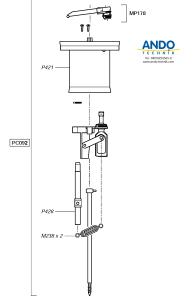 Dosatron Ersatzteile für den Motor des D25RE10VF