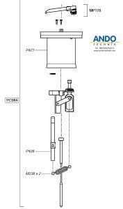 Dosatron Ersatzteile für den Motor des D25RE1500VF