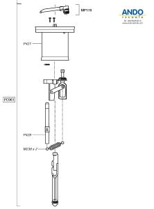 Dosatron Ersatzteile für den Motor des D25RE2VF